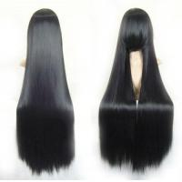 Buy cheap 40 Straight Costume Play Party Wig (Black) from wholesalers