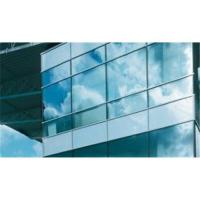Buy cheap 3 - 19 mm thickness maximum size 2440 * 3660 mm construction glass curtain walls from wholesalers