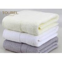 Buy cheap Embroidered Logo Custom Beach Towel Bamboo Bath Towels For Travel Baby from wholesalers