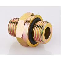 Buy cheap Brass DIN Hydraulic Fittings , O - Ring Metric Pipe Thread Fittings from wholesalers