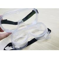 Buy cheap Comfortable PPE Safety Glasses Chemical Splash Goggle For Coronavirus Protection from wholesalers