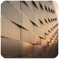 Buy cheap Perforated metal Sheet, aluminum laser cut art panel for facade and architect Project from wholesalers