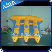 Buy cheap Exciting Inflatable Flying Fish Boat 6 Person Motorized Inflatable Water Boat product