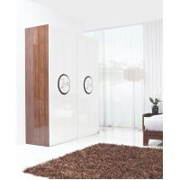 Buy cheap New Design Melamine Material Modern bedroom Custom wardrobe in fashion handle from wholesalers