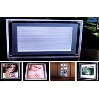Buy cheap A2 High Bright Crystal LED Light Box For Shop Sign With Acrylic Frame from wholesalers