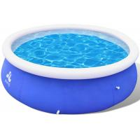 Buy cheap Entertainment Inflatable Lounge Pool , Clubs Big Blue Blow Up Pool 360 X 90 Cm from wholesalers