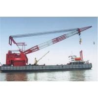 Buy cheap Lebanon,Malaysia,Maldives floating crane sell charter supply crane barge 100T TO from wholesalers