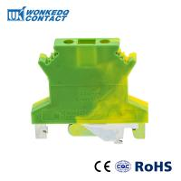 Buy cheap JUSLKG 2.5N Feed Through Ground Modular Side Entry Terminal Blocks Screw Connection Type Brass Conductors from wholesalers