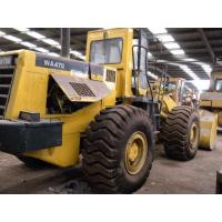 Buy cheap WA470-3 Used Komatsu Loader 21610kg 5503 hours 4.2cbm capacity from wholesalers