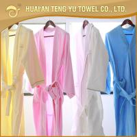 Buy cheap Luxury cotton hotel terry cloth hotel  bathrobe from wholesalers