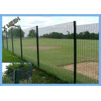 Buy cheap PVC Coated Wire Mesh Fence Panels , Heavy Duty Metal Mesh Fencing High Tensile from wholesalers