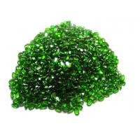 Buy cheap Pear Natural Chrome Diopside For Custom Jewelry AAA Grade 7x5mm from wholesalers