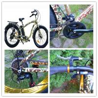 Buy cheap MTB Type 26 * 4.0 CST Electric Mountain Bike / bicycles  5 - 6 hours Charging time from wholesalers
