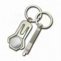Buy cheap Golf Divot Tools, Made of Zinc Alloy, with Brass Plating from wholesalers