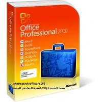 Buy cheap Microsoft Office 2010 Professional Pro Product Key Code from wholesalers