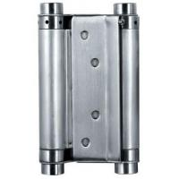 Buy cheap Satin Stainless Steel Square Door Hinges Double Action Spring Door Hinge from wholesalers