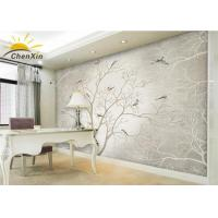 Buy cheap Bamboo Charcoal Fiber Fabric Wallpaper Wall Coverings Softness Living Room TV Background Wall from wholesalers