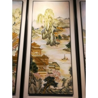 Buy cheap Custom Souvenir Stainless Steel Metal Picture Decorative Painting from wholesalers