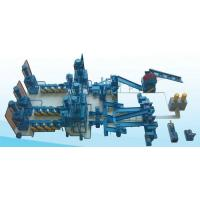 Buy cheap Blue 1200mm Waste Tire Recycling Machine For Automobile Industry / Radial Steel Tires from wholesalers