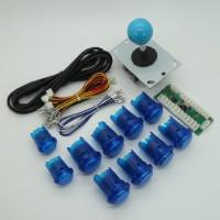Buy cheap USD18.95---Arcade DIY Parts USB Encoder + 1Joystick + 10 Illuminated  Push Buttons MAME blue color from wholesalers