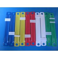 Buy cheap Colorful paper file fastener, plastic fastener and clip from wholesalers