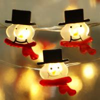 Buy cheap Starry Lights Fairy Lights Ultra Thin String Copper Wire snowman Led copper wire lights from Wholesalers