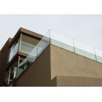 Buy cheap Modern Deisgn Side Mounted Stainless Steel Standoff Glass Railing For Balcony from wholesalers