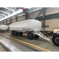 Buy cheap Three Axles Heavy Duty Semi Trailers , 25000 Liters 4 Mm Thickness Liquid Tank Trailers from wholesalers