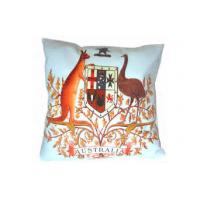 Buy cheap Waterproof Personalized Pillow Case , Cotton Canvas Kangaroo Cushion from Wholesalers