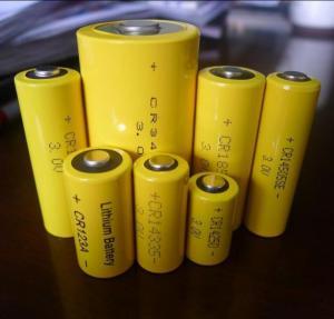 China 2/3AA CR14335 800MAH lithium battery 3.0v on sale
