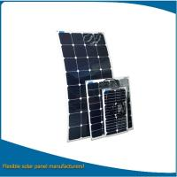Buy cheap Best price 200w marine flexible solar panel / customized semi flexible solar panel for car, boat from wholesalers