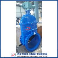 China GGG50 resilient seated ductile iron electric gate valve on sale