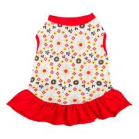 Buy cheap red dog dresses summer / chinese dog clothes / dog party dresses product