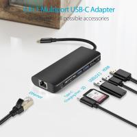 Buy cheap Type-C Adapter Hub Dock USB C to HDMI USB3.0 USB2.0 SD and MicroSD Card Reader Docking Station for Macbook pro from wholesalers