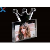 Buy cheap Creative Shape Acrylic Table Frame , Acrylic Clear Magnetic Photo Frames from wholesalers