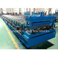 Buy cheap New Condition Deck Sheet Floor Roll Forming Machine PLC Control System from wholesalers