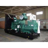 Buy cheap Electronic Cummins Diesel Generators With Water Cooling, 800KW, 3 phase,50HZ,open type product