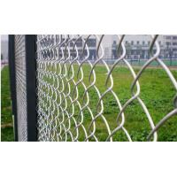 Buy cheap Zine Coated Portable Chain Link Fence Panels Security , 1.2-5mm Wire Dia from wholesalers
