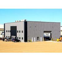 Buy cheap SCB012 Pre Built Metal Buildings / Steel Frame Fabrication With Mezzanine from wholesalers