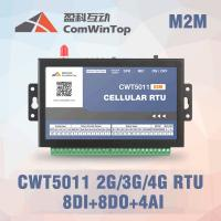 Buy cheap CWT5111 Industrial SMS GSM RTU Controller Alarm With 8Di 8Do 4Ai Optional 3G 4G product