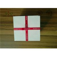 Buy cheap Delicate Ribbon Bow Attached Color Cosmetic Packaging Boxes Square Shape from wholesalers