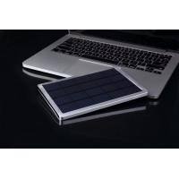 Buy cheap 10000mAh Portable Solar Power Bank , Mini Solar Power Phone Charger for Smartphone from wholesalers