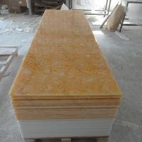 Buy cheap Composite Solid Surface Decorative Translucent Resin Panel For Wall Panel 3050*760mm from wholesalers