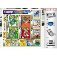 Buy cheap 320 in1 include 320 kinds of Game Pokemon Yellow ect Pokemon Games cards for GBA Gameboy Advance video game console from wholesalers