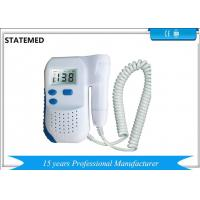 Buy cheap Fetal Heartbeat Prenatal Ultrasound Baby Monitor / Ultrasound Fetal Heartbeat Monitor from wholesalers