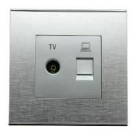 Buy cheap TV and Computer Socket (EE-KSMDS-1) from wholesalers