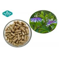 Buy cheap Pure Herbal Supplements Passion Flower Capsules Dietary Supports A Calm Mood from wholesalers