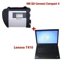 Buy cheap 2018.7V Wireless MB SD C4 Mercedes Diagnostic Tool With I5 CPU 4G RAM Lenovo product