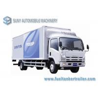 Buy cheap ISUZU Engine 175 Hp ISUZU 700P Refrigerated Box Truck Load 10T 4x2 Drive Type from wholesalers
