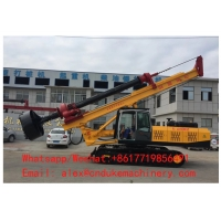 Buy cheap FACTORY DIRECT SALE CRAWLER MINING ROTARY DRILLING RIG MACHINE from wholesalers